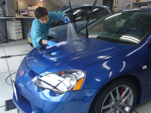 洗車 インテグラ